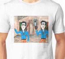 Ash Vs Evil Ash watercolor Unisex T-Shirt