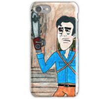 Ash Vs Evil Ash watercolor iPhone Case/Skin