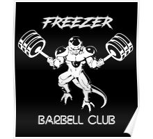 Freezer Barbell Club Poster