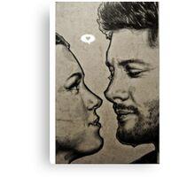 Jensen Ackles & Danneel Harris Canvas Print