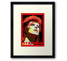 david bowie Framed Print
