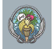 Banana Pirate! Photographic Print