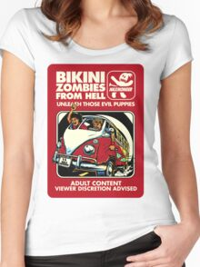 Bikini Zombies From Hell Women's Fitted Scoop T-Shirt