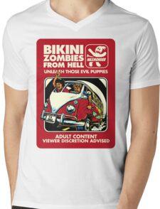 Bikini Zombies From Hell Mens V-Neck T-Shirt
