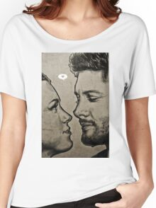 Jensen Ackles & Danneel Harris Women's Relaxed Fit T-Shirt