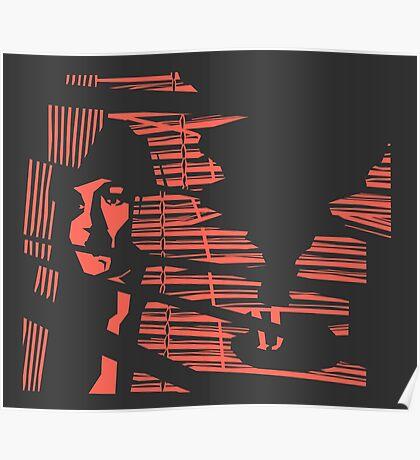 Classic Noir (Inverse) Poster