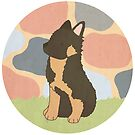 Alsatian Puppy by CarlyWatts