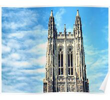 The Belfry of Duke Chapel Poster