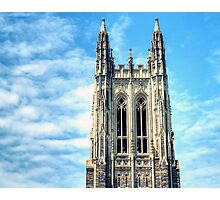 The Belfry of Duke Chapel Photographic Print