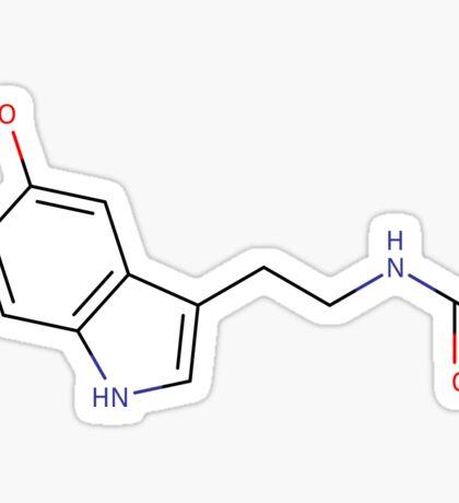 Melatonin - Chemical structure Sticker