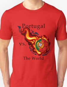 World Cup - Portugal Versus the World Flaming Football T-Shirt