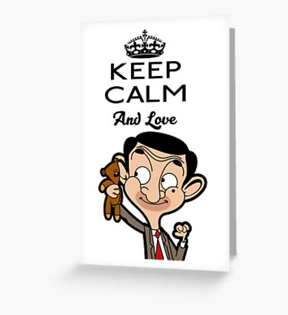 Mr Bean 1 Greeting Card