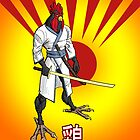 Samurai Chicken by tonywicks