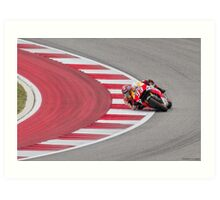 Marc Marquez at Circuit Of The Americas 2014 Art Print