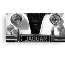 Vintage Jaguar  Canvas Print