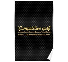 Competitive... Inspirational Quote Poster