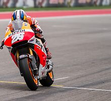 Dani Pedrosa at Circuit Of The Americas 2014 by corsefoto