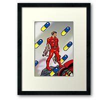 Hero of Neo Tokyo Framed Print
