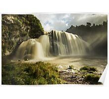 Waihi Waterfalls Poster