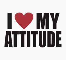 Ice Cube - I love my attitude by tvmovietvshirt