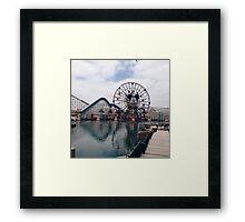 Disneyland 2 Framed Print