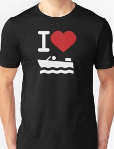 I love Boating 2 T-Shirt