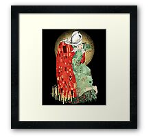 The Bloody Kiss Framed Print
