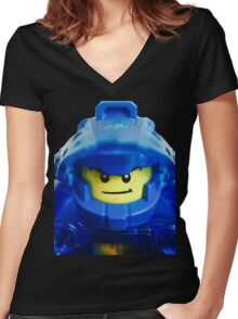 The Knight's Leader Women's Fitted V-Neck T-Shirt