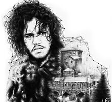 Jon Snow by Lauren Evans