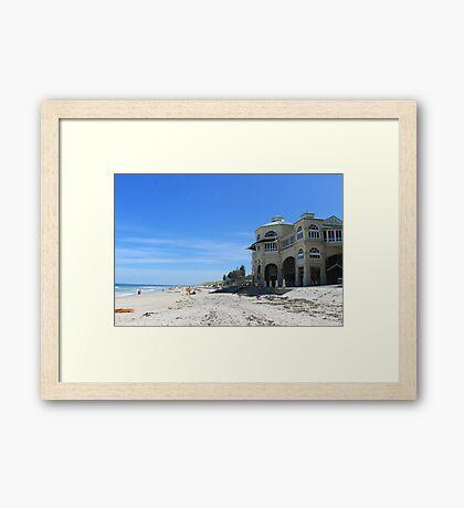 Cottesloe Beach, Perth - Western Australia.  Framed Print