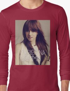 christina grimmie Long Sleeve T-Shirt