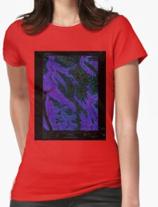 USGS TOPO Map Alaska AK Bradfield canal B-6 354734 1955 63360 Inverted Womens Fitted T-Shirt