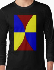 Primary Hourglass Long Sleeve T-Shirt