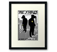 The Stables V2 Framed Print