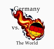 World Cup - Germany Versus the World Flaming Football Unisex T-Shirt