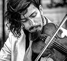 The Violinist by marcopuch
