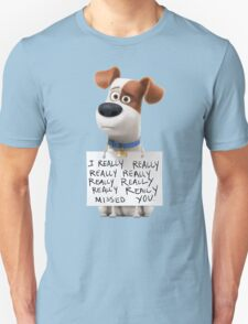 Max - The secret life of pets Unisex T-Shirt