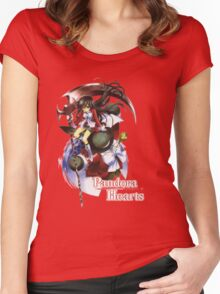 Pandora Hearts - Alice w/pandora logo Women's Fitted Scoop T-Shirt
