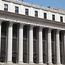 Famous Quotation, Classic Architecture of General Post Office, New York City by lenspiro