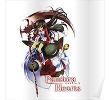 Pandora Hearts - Alice w/ Pandora Logo Poster