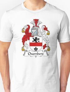 Chambers Coat of Arms / Chambers Family Crest T-Shirt