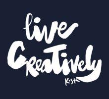 Live Creatively : Dark One Piece - Short Sleeve