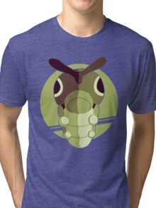 Pokemon Red & Blue - Caterpie Tri-blend T-Shirt