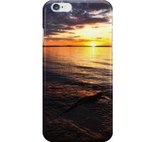 Rocks At Sunset iPhone Case/Skin