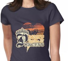 Daddy's Precious Lil' Princess Womens Fitted T-Shirt