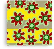 Painted flowers Canvas Print