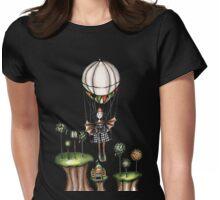 Bat clown Womens Fitted T-Shirt