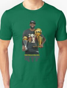 "LeBron ""The King"" James NBA 2016 MVP Unisex T-Shirt"