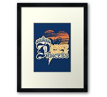 Daddy's Precious Lil' Princess Framed Print