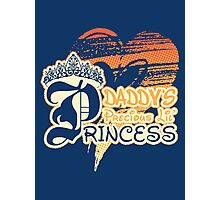 Daddy's Precious Lil' Princess Photographic Print